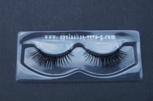 Sera-G three quarter lashes.  Hope you can see the fine, flexible strip/base.